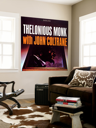 Thelonious Monk with John Coltrane - Thelonious Monk with John Coltrane Wall Mural