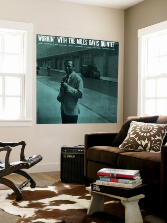Miles Davis - Workin' with the Miles Davis Quintet Wall Mural