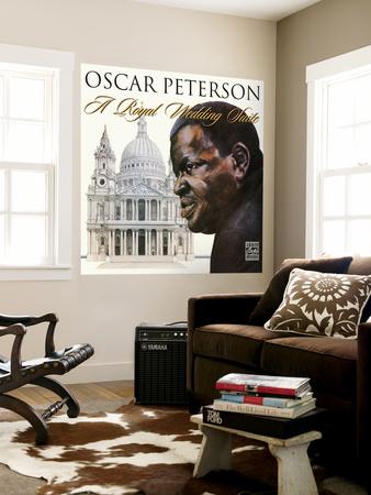Oscar Peterson - A Royal Wedding Suite Wall Mural
