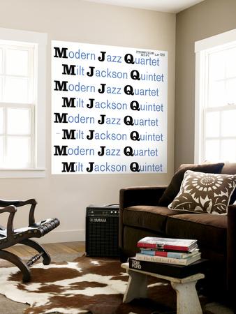 Modern Jazz Quartet and Milt Jackson Quintet - MJQ Wall Mural
