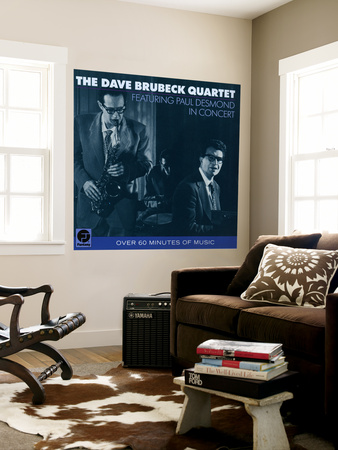Dave Brubeck Quartet - Featuring Paul Desmond in Concert Wall Mural
