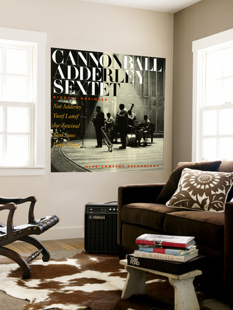 Cannonball Adderley - Dizzy's Business Wall Mural