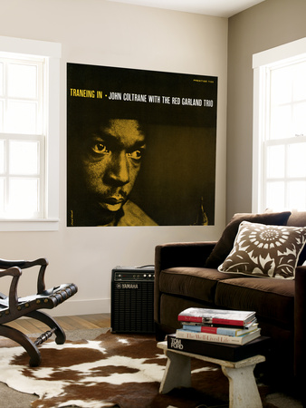 John Coltrane - Traneing In Wall Mural