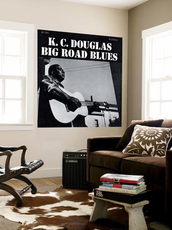K.C. Douglas - Big Road Blues Wall Mural