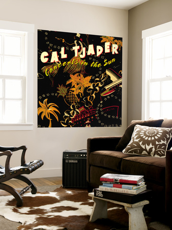 Cal Tjader - Concerts in the Sun Wall Mural
