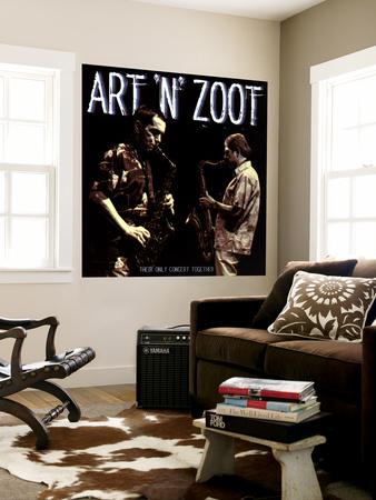 Art Pepper - Art 'N' Zoot Wall Mural