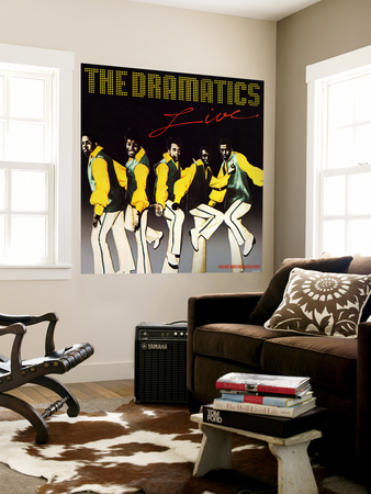 The Dramatics - The Dramatics Live Vægplakat
