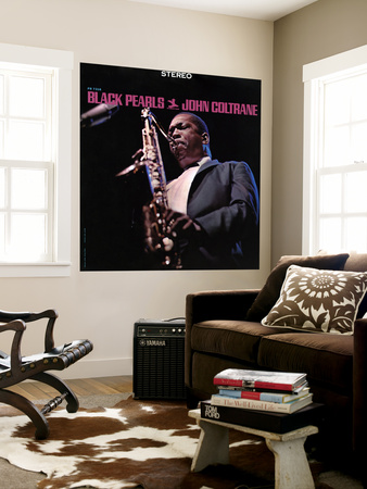 John Coltrane - Black Pearls Wall Mural