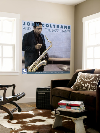 John Coltrane - John Coltrane and the Jazz Giants Wall Mural