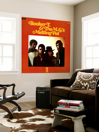 Booker T. & the MGs - Melting Pot Wall Mural