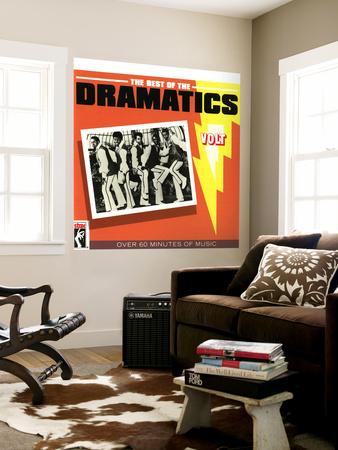 The Dramatics - The Best of the Dramatics Vægplakat