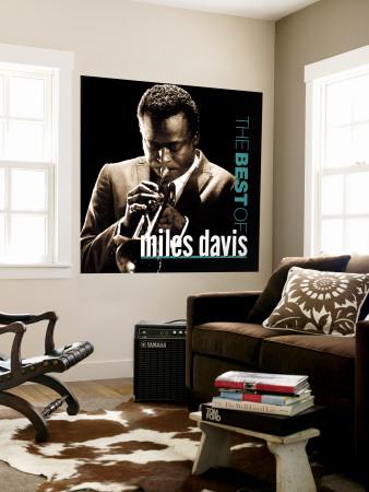Miles Davis All-Stars - The Best of Miles Davis Wall Mural