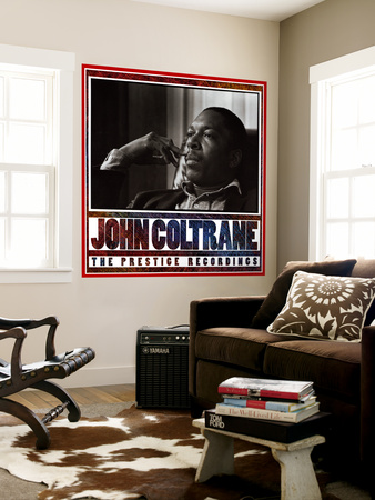 John Coltrane - The Prestige Recordings Wall Mural