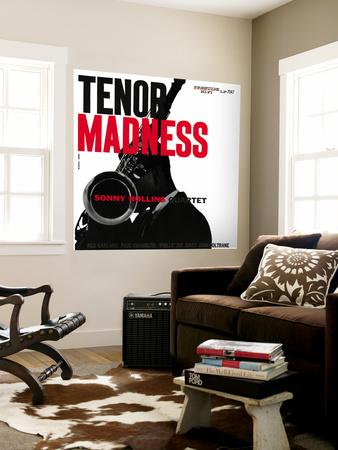 Sonny Rollins Quartet - Tenor Madness Wall Mural
