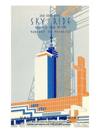 1933 Chicago World's Fair 1933, Century of Progress Posters