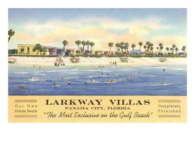 Larkway Villas, Panama City, Florida Posters