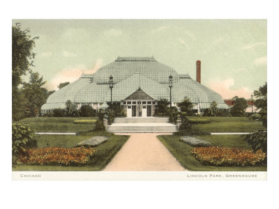 Lincoln Park Greenhouse, Chicago, Illinois Posters