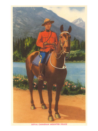 Royal Canadian Mountie Posters