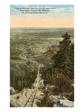 Manitou, Colorado Springs, Colorado Posters