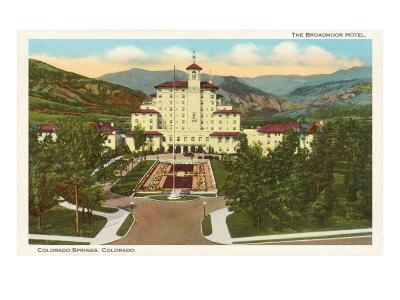 Broadmoor Hotel, Colorado Springs, Colorado Posters