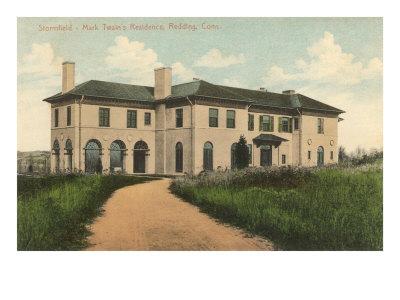Mark Twain Residence, Redding, Connecticut Print