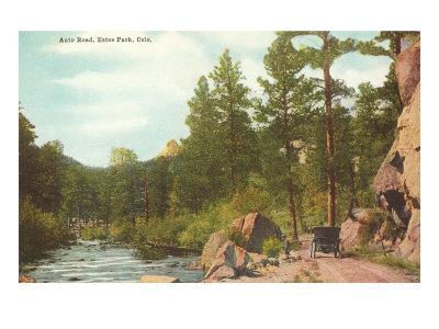 Auto Road, Estes Park, Colorado Print