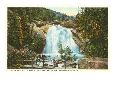 Helen Hunt Falls, Colorado Springs, Colorado Posters