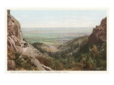 Mountain Pass, Colorado Springs, Colorado Posters