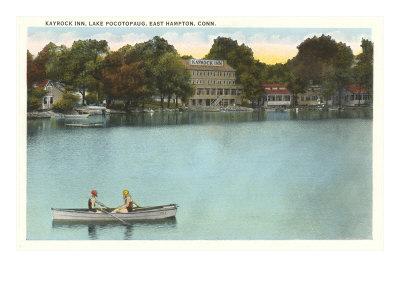 Kayrock Inn, Lake Pocotopaug, Connecticut Posters