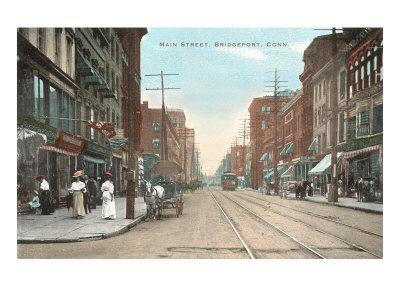 Main Street, Bridgeport, Connecticut Posters