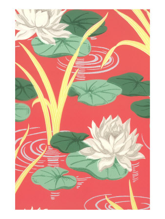 Lily Pads Decorative Arts Giclée-Druck