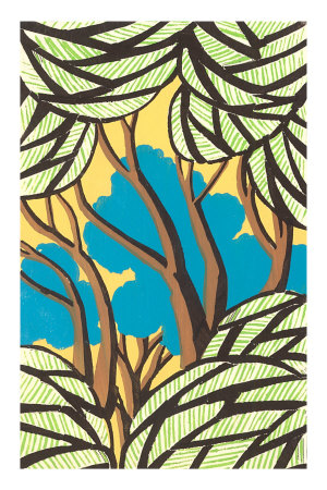 Trees, Decorative Arts Premium Poster