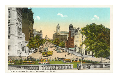 Pennsylvania Avenue, Washington D.C. Premium Poster