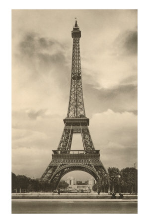 Paris France Eiffel Tower Pictures on Eiffel Tower  Paris  France Prints   Allposters Co Uk