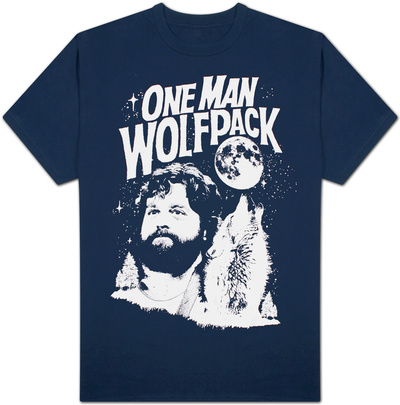 The Hangover - One Man Wolf Pack T-Shirt