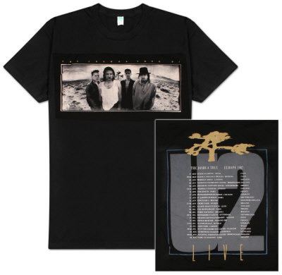 U2 - Joshua Tree T-shirt