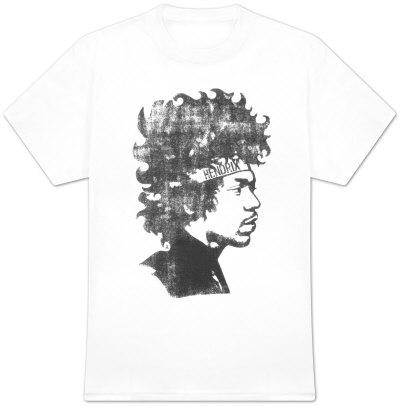 Jimi Hendrix - Headband Shirt