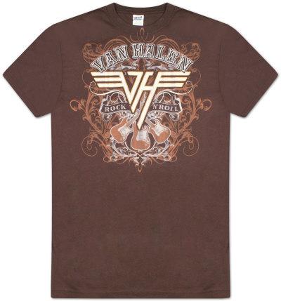 Van Halen - Rock N Roll Magliette