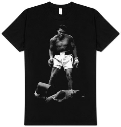 Muhammad Ali - Ali Over Liston T-Shirt