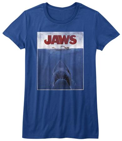 Juniors: Jaws - Poster T-Shirt
