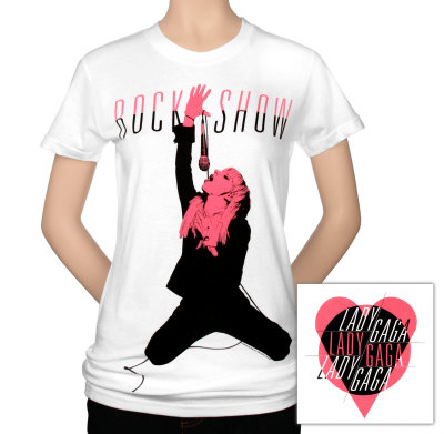 Juniors: Lady Gaga - Rock Show T-Shirt
