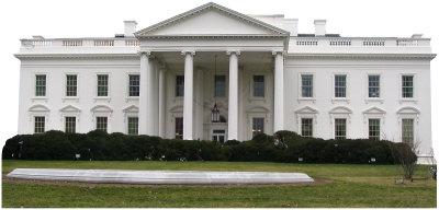 The White House Cardboard Cutouts