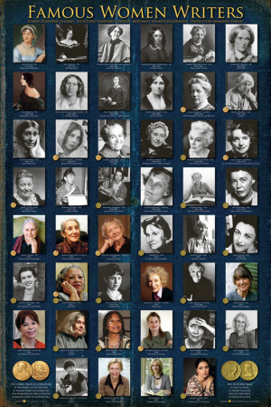 Famous Women Writers Prints