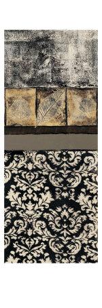Nature's Damask Panel I Prints by Kime John