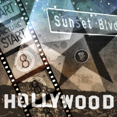 Sunset Blvd. Posters by Keith Mallett