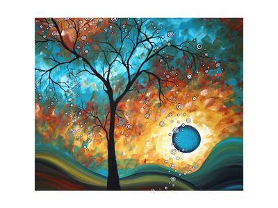 Aqua Burn Prints by Megan Aroon Duncanson