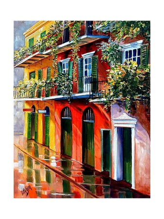 Sunshine In The French Quarter Prints by Diane Millsap