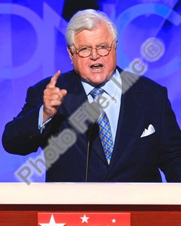 U.S. Senator Edward Kennedy at the 2008 Democratic National Convention Photo