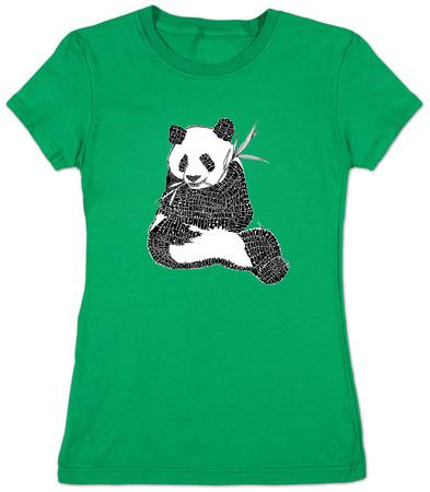 Juniors: Panda T-shirts