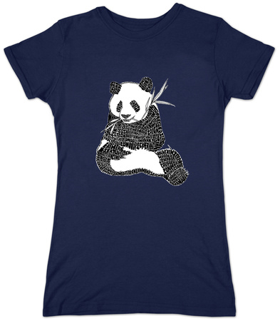 Juniors: Panda T-Shirt